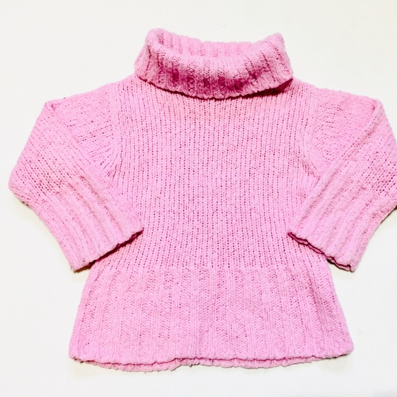 H&M Other - H&M Pink Knit Turtleneck Sweater